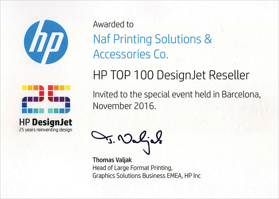 top 100 designjet reseller copy
